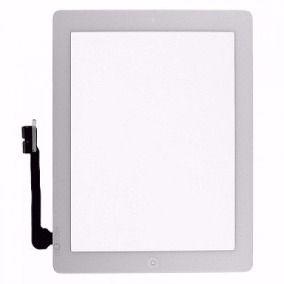 Tela Vidro Touch Screen   Ipad 3 + Home + Adesivo A1403 A1416 A1430 Branco