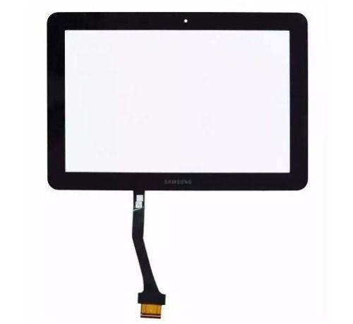 Tela Vidro Touch Screen Tablet    Samsung  Galaxy Tab 10.1 P7500 P7510  Preto