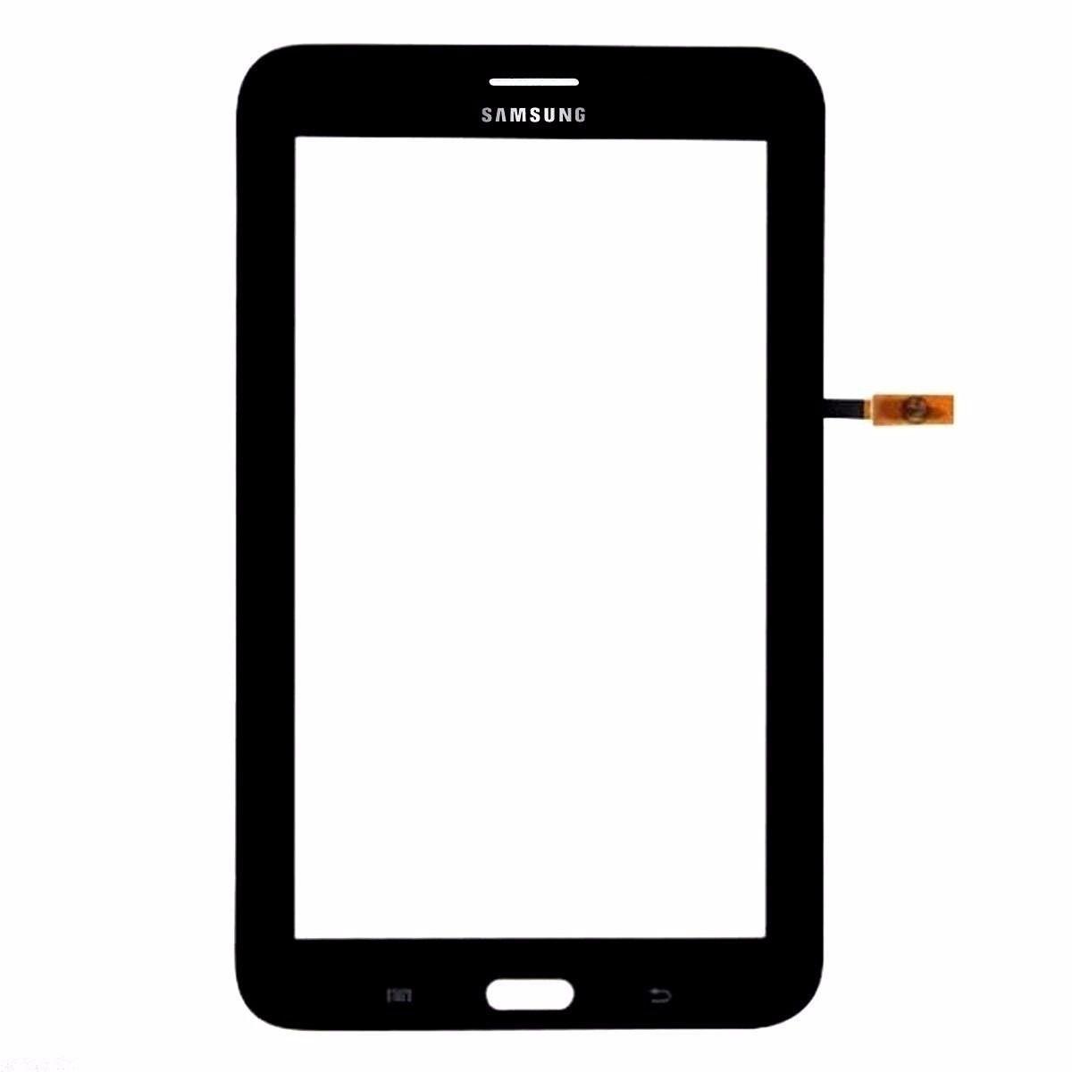 Tela Vidro Touch Screen Tablet   Samsung Galaxy Tablet Sm-t111 T111 Tab 3 Preto