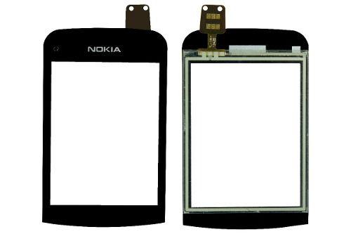 Toque Tela Touch Nokia C2-06 C2-02 C2-03 Preto