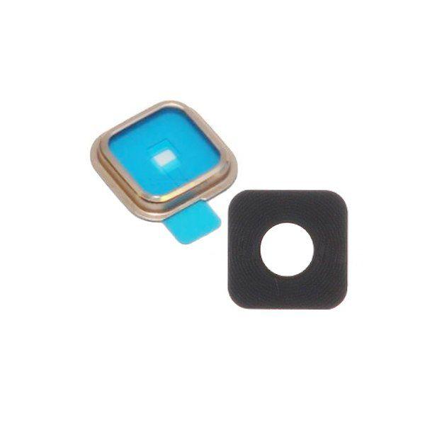 Vidro Lente Camera Traseira Samsung Galaxy S5 G900 G900md Dourado