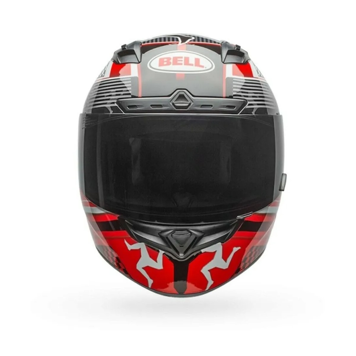 Capacete Bell Qualifier Dlx Mips Isle of Man Preto