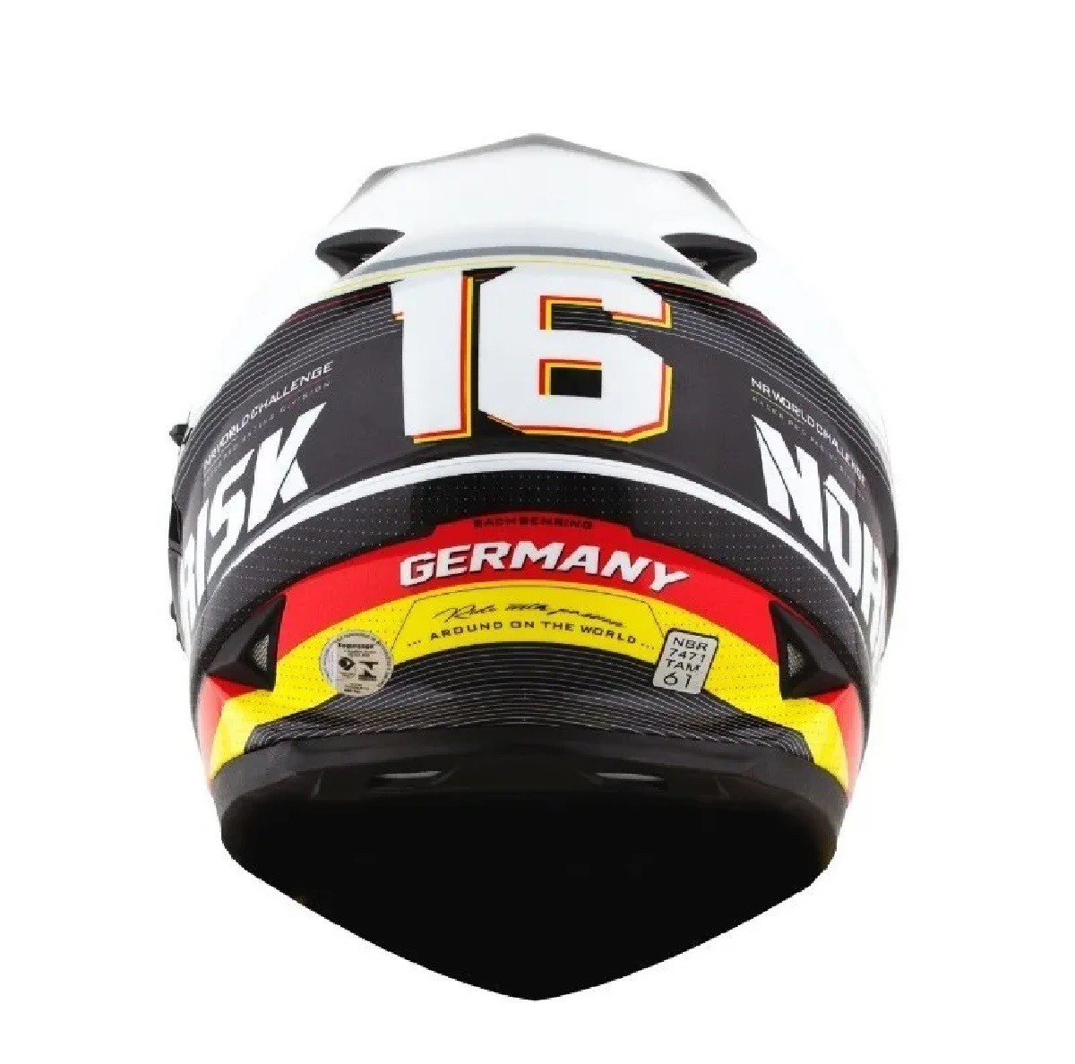 Capacete Norisk FF302 Grand Prix Alemanha