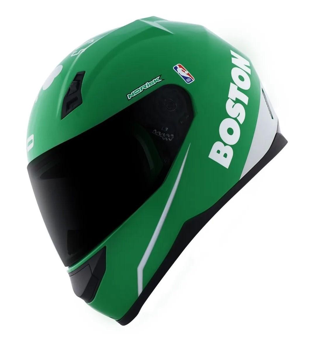 Capacete Norisk FF391 Boston Celtics Verde