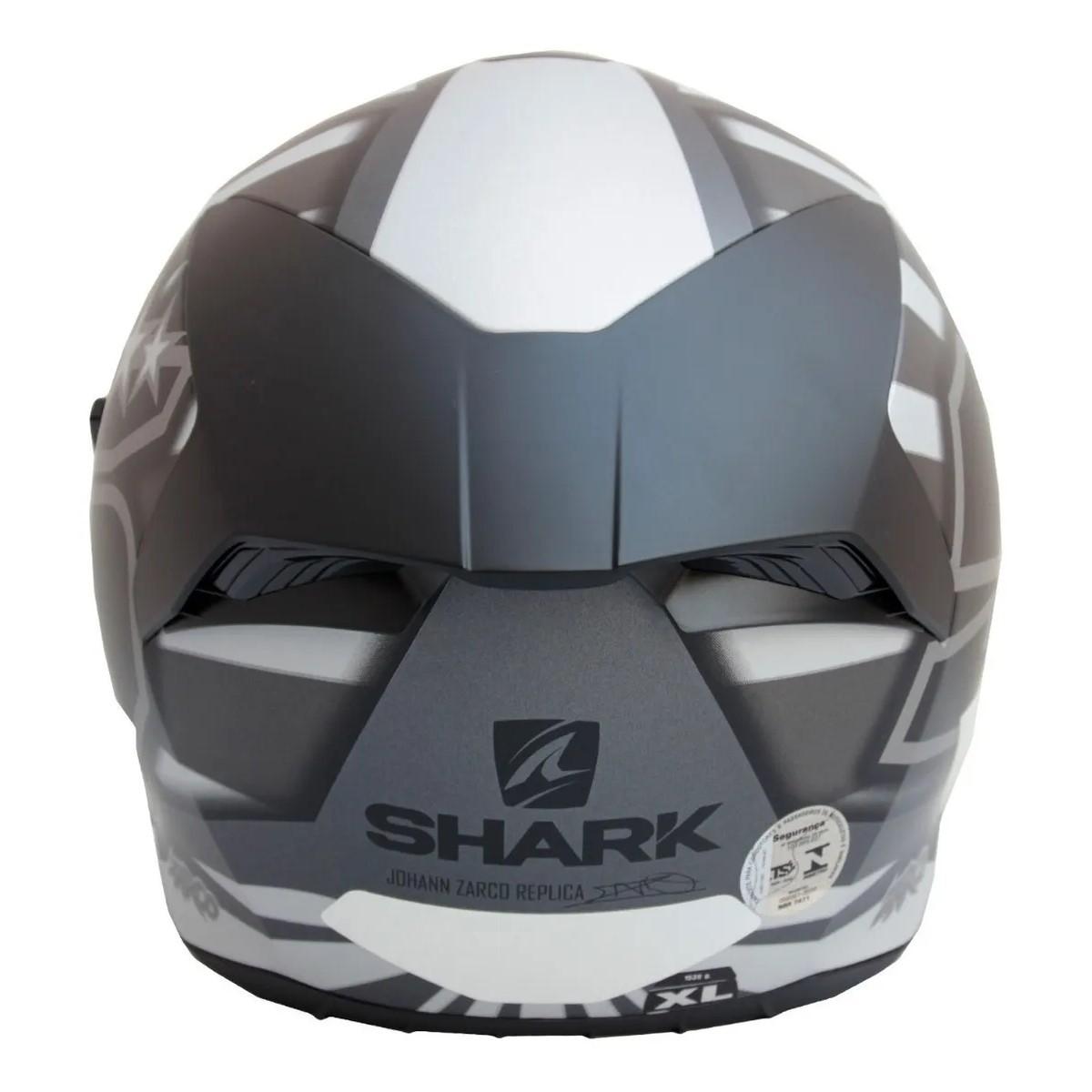 Capacete Shark D-Skwal 2 Switch Rider Preto Azul Verde