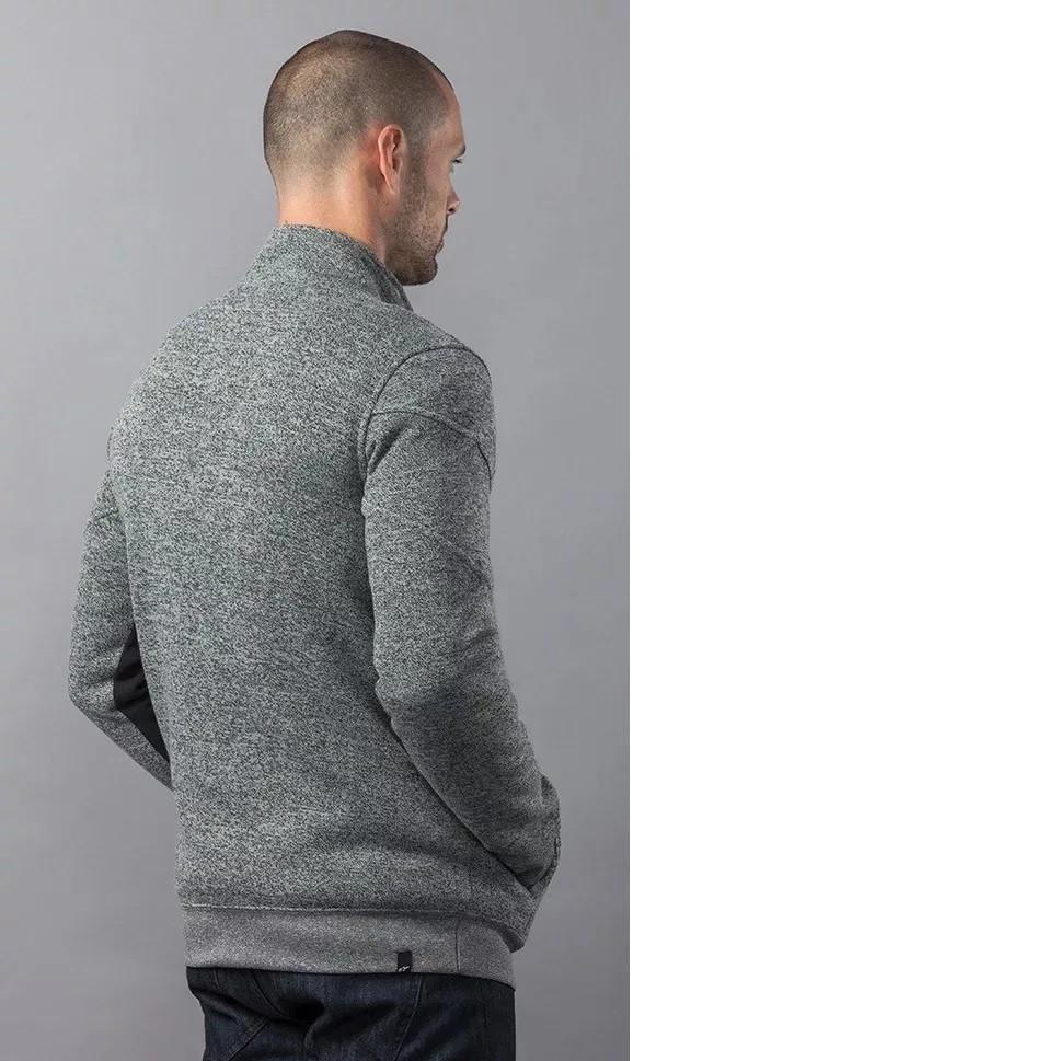 Jaqueta Alpinestars Lux Sweater Cinza Preta Casual