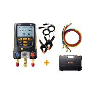 Kit Manifold Digital 2vias Testo 550 bluetooth Com (3) mangueiras