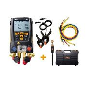 Kit Manifold Digital Testo 557 Bluetooth 4 Vias com 4 Mangueiras
