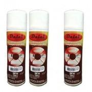 3 Tintas Spray Preta Para Ar Condicionado E Carenagem