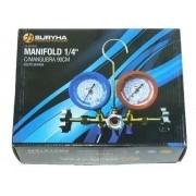 Manifold Refrigeração r22 r134 r404 Suryha