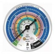 Manômetro Mastercool EL Baixa Pressão r410 r404 r22 r507