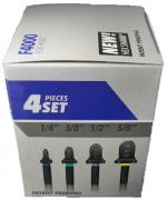Flangeador Spin de Tubos Cobre e Alumínio 1/4 3/8 1/2 5/8 F4000