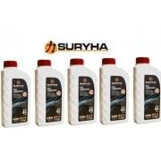 Kit 05 óleos Suryha para Bomba de Vácuo