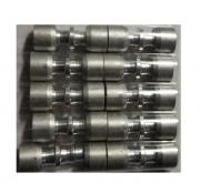 Kit (10) Conexão Junta Tubo Aluminio 1/4 x 1/4 - ET6363AL02