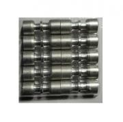 Kit (10) Conexão Junta Tubo Aluminio 7,00mm x 1/4 ET7063AL02