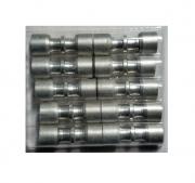 Kit (10) Conexão Junta Tubo Aluminio 7,5mm x 7mm - ET7570al02