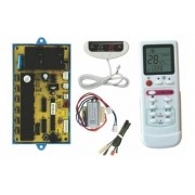 Kit Placa Universal Piso Teto + Controle Suryha 80150123