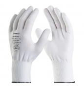 LUVA POLIFLEX de segurança tricotada em nylon - DANNY DA-1100 BRANCO - TAM G