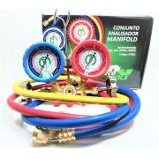 Manifold Gas R410a R22 R404 R507a Ecotools Mang 150cm Et661