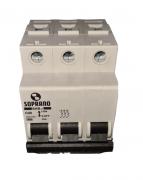 Mini Disjuntores Shb 3p X 20a Código: 20003.1750.33 Soprano - 3 C20