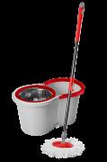 Mop Wap Giratório Inox 360