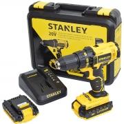 Parafusadeira Furadeira 2 Baterias Scd20c2k-br 20v Stanley