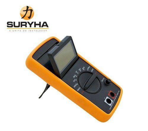 Capacímetro Digital Suryha 80150090