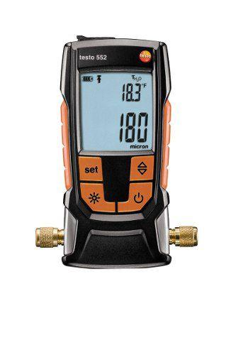 Vacuometro Digital Com Bluetooth Testo 552