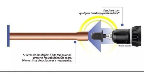 Alargador De Tubos Spin S4000 Kit - 1/4 3/8 1/2 E 5/8