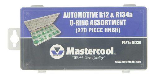 Conjunto O-ring Automotivo R12 e R134a (270 Peças Hnbr)