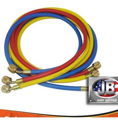 """Kit de Mangueiras JB ccle 60"""" R410a 150 cm"""