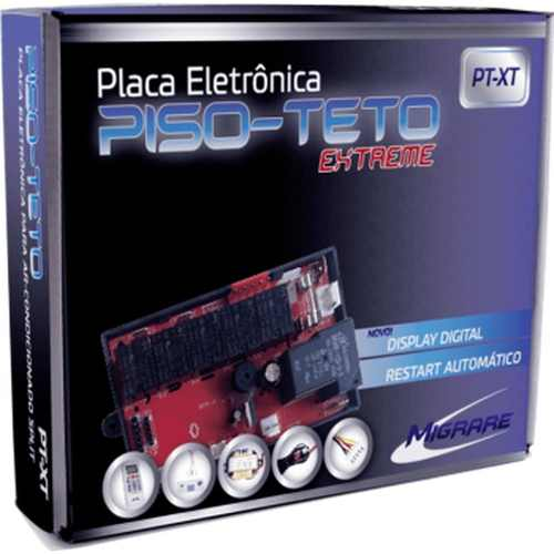 Kit Controle Remoto Placa Piso Teto Extreme Pt-xt Migrare