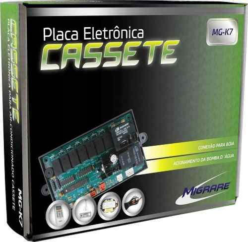 Placa Cassete K7 Universal Mg-k7 Kit Completo com Controle remoto