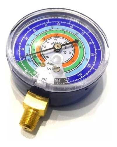 Manômetro Baixa r134a r22 r12 R404a MRL Mastercool