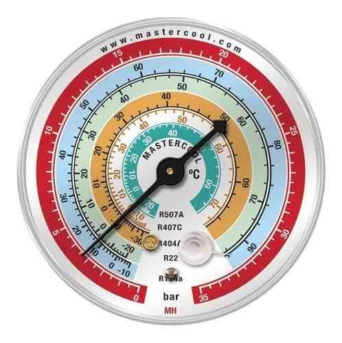 Manômetro de Alta Mastercool EH r410 r404a r507 r22