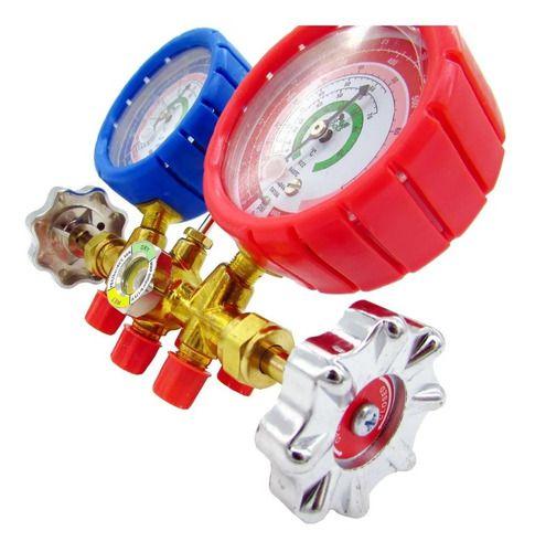 Manifold Gas R410a R22 R404 R507a Ecotools Mang 90cm Et361