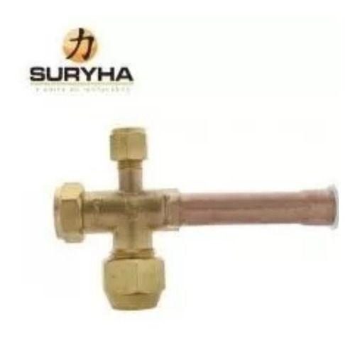 Valvula 3/8 Condensadora Split Suryha