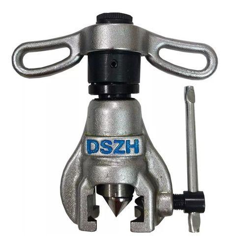 Flangeador De Tubos 1/4 a 3/4 Kit Completo Dszh Rct-n808am-l