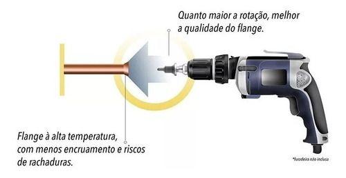 Flangeador Spin 1/4 e 5/16 + Alargador Spin 1/4 e 5/16