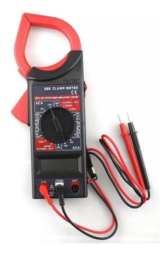 Alicate Amperímetro Digital Multímetro Com Estojo 266