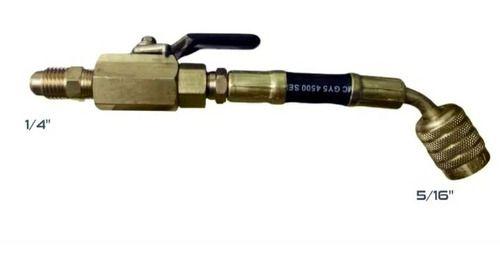 Mangueira Adaptador para r410a 1/4 FL-M X 5/16 F Mastercool 90411 com registro bola
