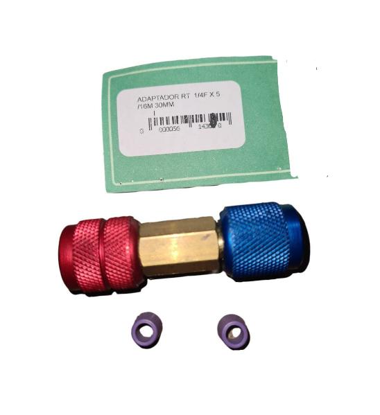Adaptador ZL Soluções 5/16F x 1/4F X 30mm 614301