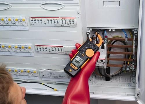 Alicate Amperímetro Testo 770-3 True Ms Medição Corrente Eletrica