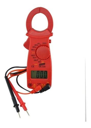 Alicate Amperímetro Voltímetro Ohmímetro Va-330 Instrutherm