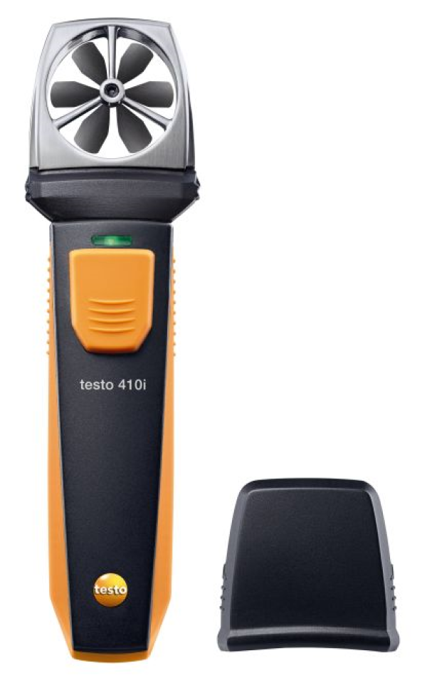 Anemômetro Molinete Operação Smartphone Testo 410i
