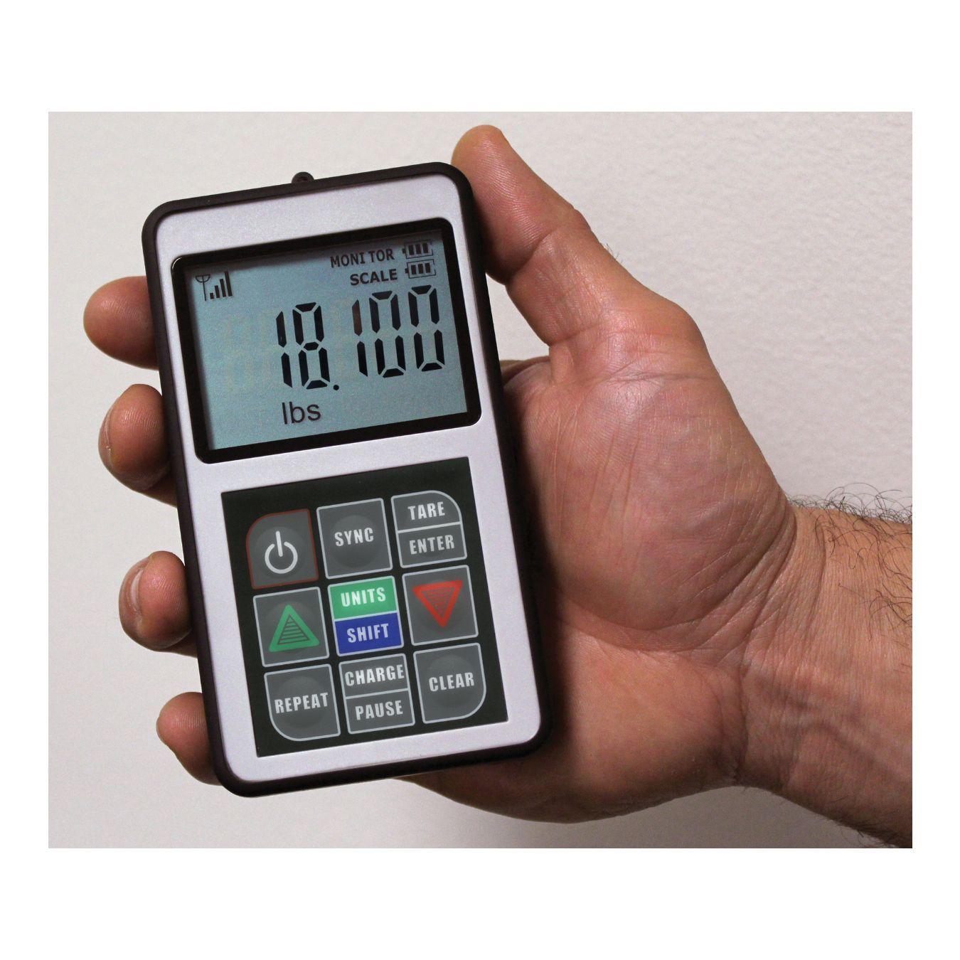 "Balança Carga 110kg sem fio ""Wireless"" Programável 98310 Mastercool"