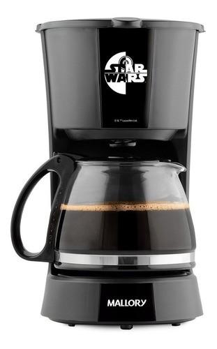 Cafeteira Mallory Star Wars Preta 220v