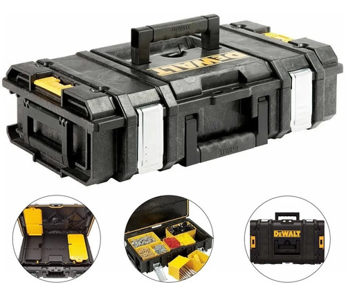 Caixa Organizador Toughtsystem Pequena Dewalt Dwst08201