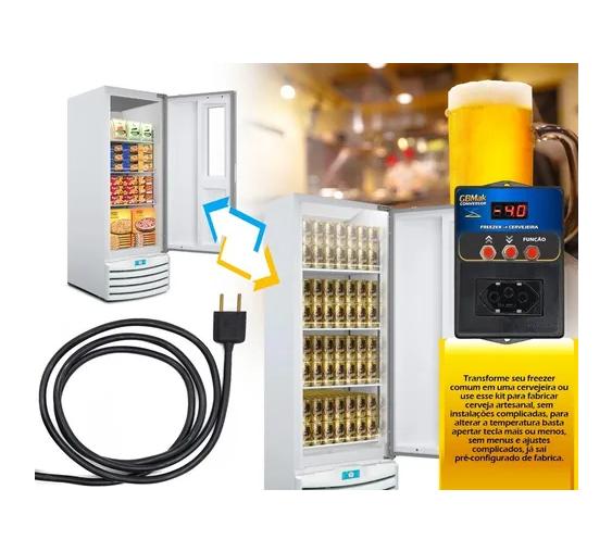 Conversor Freezer Em Cervejeira Ou Geladeira Digital GBM ak
