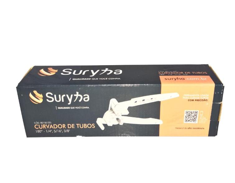 """Curvador de Tubos 180° 1/4"""" a 3/8"""" - SURYHA 80150.025"""